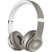 Beats Solo2 On-Ear Headphones Luxe Edition Zilver