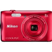Nikon Coolpix A300 Rood