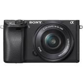 Sony Alpha A6300 Zwart + PZ 16-50mm OSS