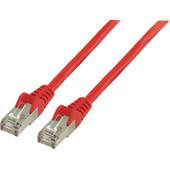 Valueline Netwerkkabel FTP CAT6 1 meter Rood