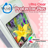 Brando Screenprotector Ultra Clear 4.3'' + Tas