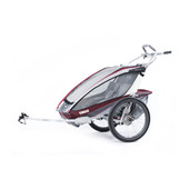 Thule Chariot CX 2 Burgundy