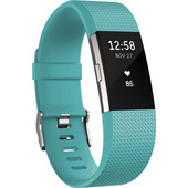 Fitbit Charge 2 Teal/Silver - L