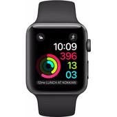 Apple Watch Series 1 38mm Spacegrijs Aluminium/Zwarte Sportband