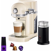 KitchenAid Nespresso and Aeroccino 5KES0504 Almond