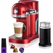 KitchenAid Nespresso and Aeroccino 5KES0504 Apple Red