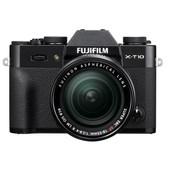 Fujifilm X-T10 Zwart + 18-55mm