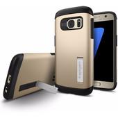 Spigen Slim Armor Samsung Galaxy S7 Goud