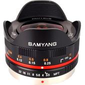 Samyang MFT 7.5mm f/3.5 Zwart