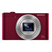 Sony CyberShot DSC-WX500 Red