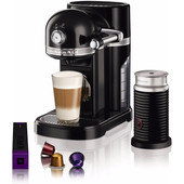 KitchenAid Nespresso en Aeroccino 5KES0504 Onyx Zwart