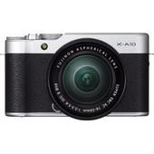 Fujifilm X-A10 Zilver + 16-50mm OIS II
