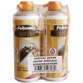 Fellowes HFC Free Airduster 2 Pack 2x 200ml