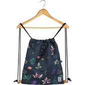 The Pack Society Gymsack Dark Floral All Over