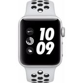 Apple Watch Series 3 Nike+ 38mm Zilver Aluminium/Zwart Sportband