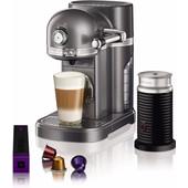 KitchenAid Nespresso en Aeroccino 5KES0504 Tingrijs