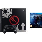 Sony PlayStation 4 Pro 1TB Star Wars Battlefront 2 Bundle