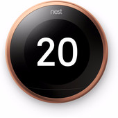 Nest Learning Thermostat V3 Premium Copper with installation