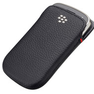 BlackBerry Leather Pocket Black 9900