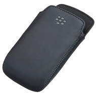 BlackBerry Leather Pocket Black Curve 9360