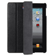 Decoded Leather Front & Back Cover iPad 2 / 3 / 4 Black