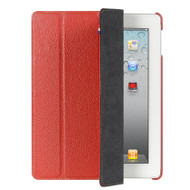 Decoded Leather Front & Back Cover iPad 2 / 3 / 4 Red