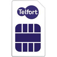 Telfort Prepaid 4FF Nano simkaart