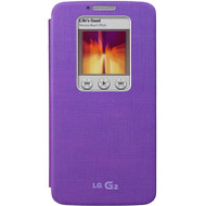 LG G2 Quick Window Cover Violet