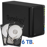 Synology DS214 + 6 TB