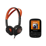 Philips sportbundel: koptelefoon + sport MP3-speler