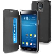 Muvit Easy Folio Card Case Samsung Galaxy S5 Black