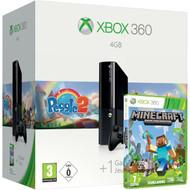 Microsoft Xbox 360 4 GB Peggle 2 & Minecraft Pack