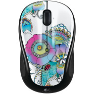Logitech Wireless Mouse M235 Lady on the Lilly