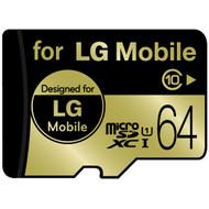 LG microSDXC 64 GB Class 10