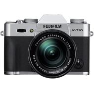 Fujifilm X-T10 + 16-50 mm zilver