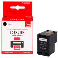 Huismerk HP 301 Cartridge Zwart XL (Pixeljet - CH563EE)