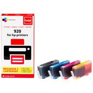 Huismerk HP 920 Cartridge 4-Kleuren XL (Pixeljet - C2N92AE)