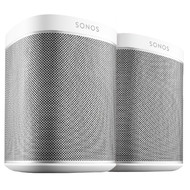 SONOS PLAY:1 Wit (2x)