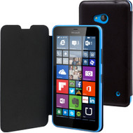 Muvit Book Case Microsoft Lumia 640 Zwart