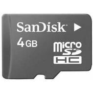 SanDisk Micro SDHC 4 GB