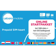 Lebara Online simkaart