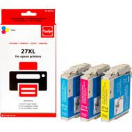 Huismerk Epson 27 XL 3-Kleuren Pack (Pixeljet - C13T27154010)