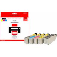 Huismerk Epson 33 XL 5-Kleuren Pack (Pixeljet - C13T33574010)