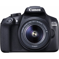 Canon EOS 1300D BLACK + EF-S 18-55 DC III + 50MM 1.8 STM