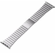 Just in Case Metalen Polsband Apple Watch 42mm Zilver