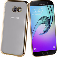 Muvit Bling Samsung Galaxy A3 (2017) Back Cover Goud