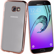 Muvit Bling Samsung Galaxy A3 (2017) Back Cover Rose Gold