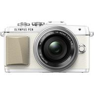 Olympus PEN E-PL7 Wit + M.Zuiko 14-42mm F3.5-5.6 Zilver
