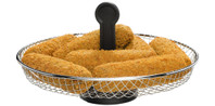 Snackmanden voor friteuses