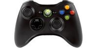 Microsoft Xbox 360 Wireless Controller Black 'R'